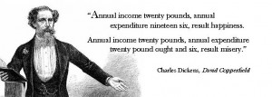 Charles Dickens quote from David Copperfield