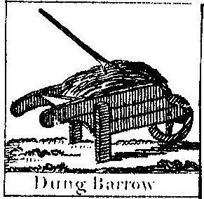 Dung barrow - literally a pile of shit